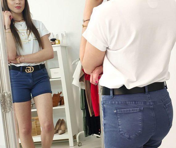 jeansowe szorty damskie